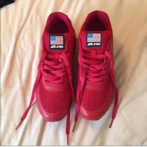 Like new red Nike AirMax!